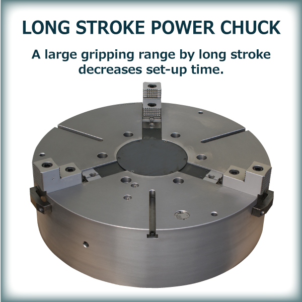 LONG STROKE POWER CHUCK CLS SERIES