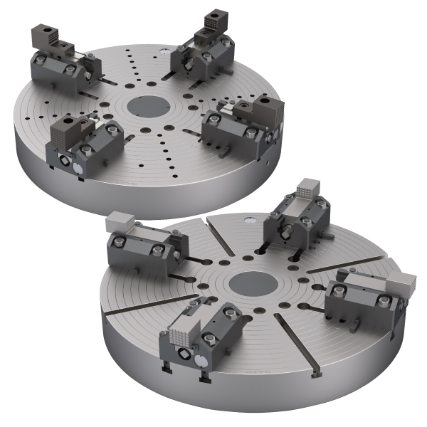 FACE PLATE WITH BORING MILL JAWS FBK/FBJ SERIES